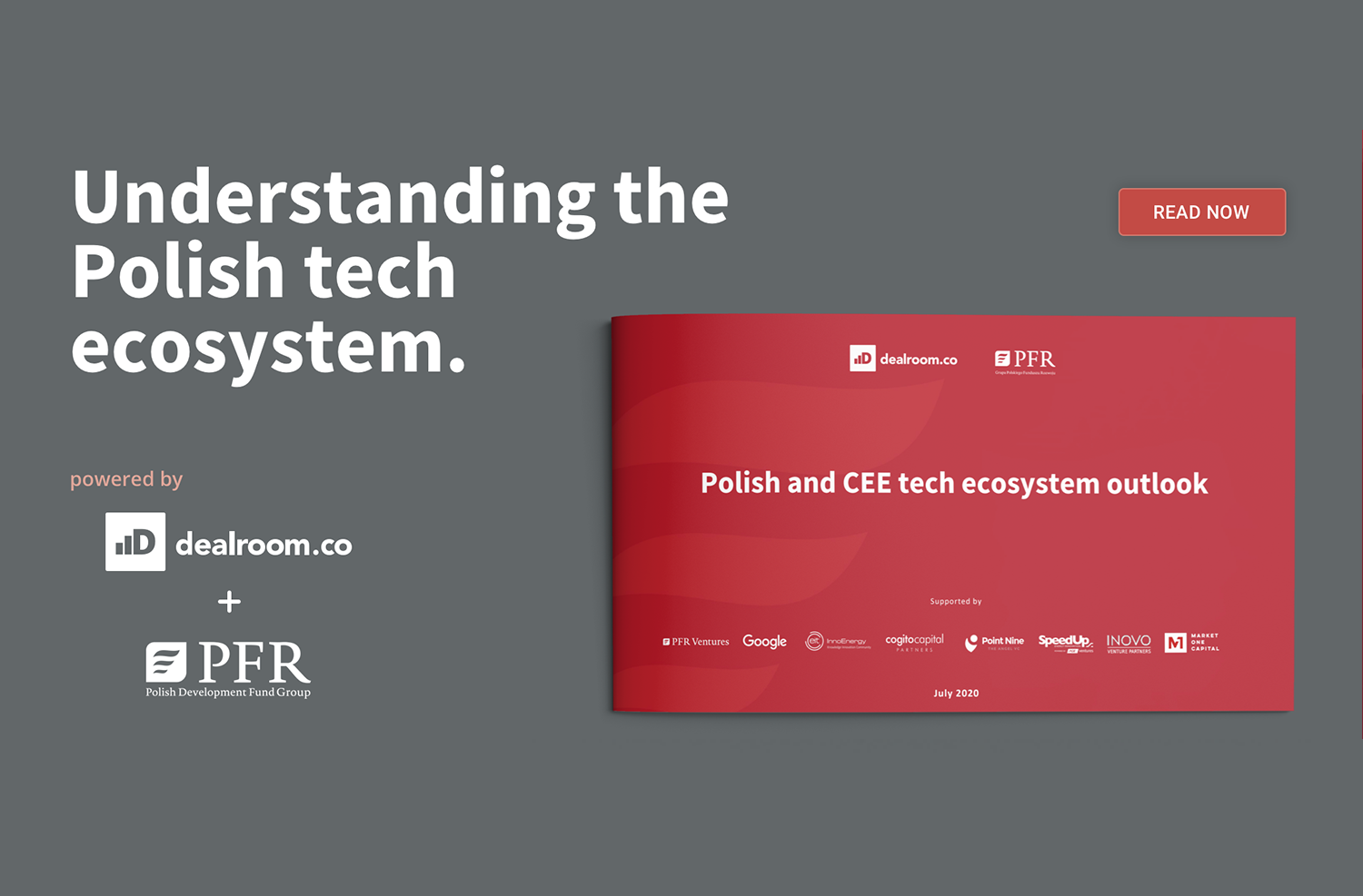 Raport PFR i dealroom: Polish and CEE tech ecosystem outlook